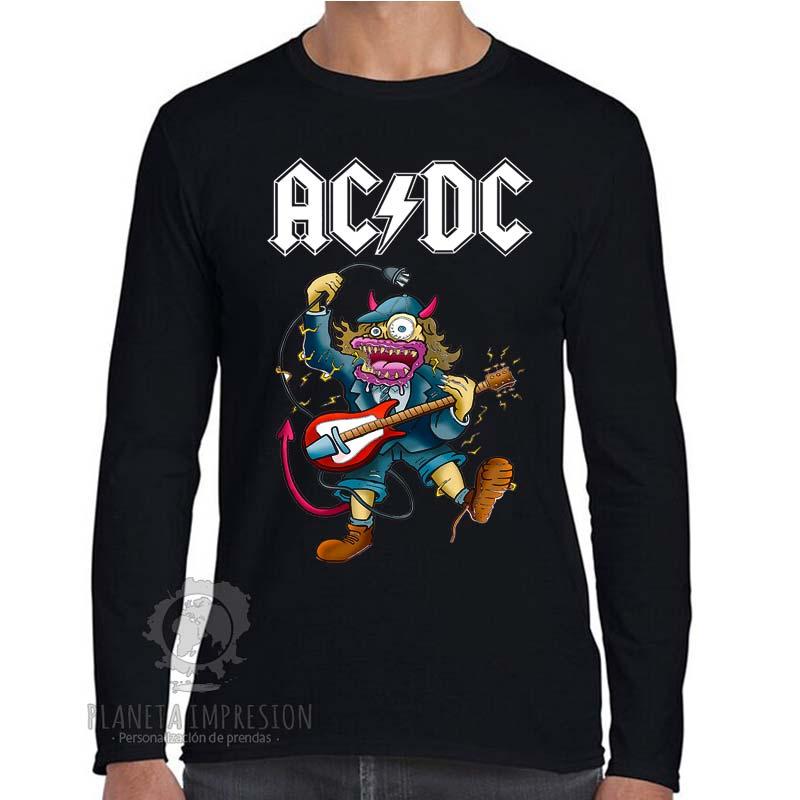 87b88ba35 ... Camiseta Manga Larga ACDC  Angus Rock. ACDC-Angus-Rock