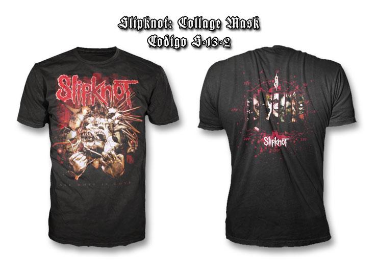 Slipknot-Collage-Mask